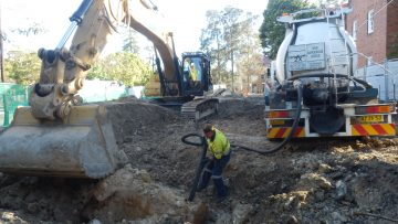 Remediation of Former Service Station, Mosman, ACT