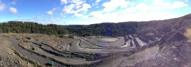 Hard Rock Quarry, Kulnura, NSW
